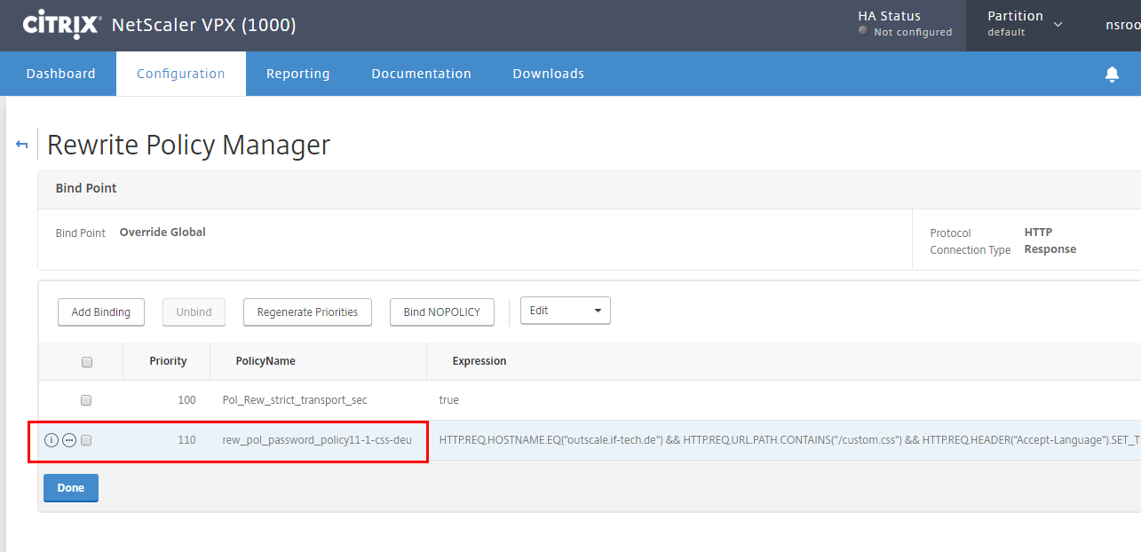 How to Change Hostname and URL in Client Request on NetScaler Appliance Using Rewrite Feature